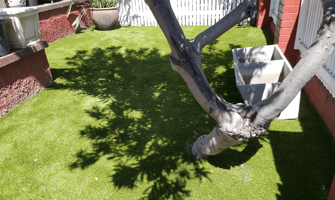 Perth Artificial Grass Installation