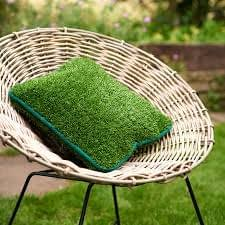artificial grass pillows