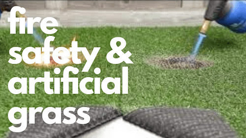 What You Should Know About Fire Safety And Artificial Grass