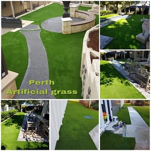 Private Courtyard Turf Installation in Shenton Park