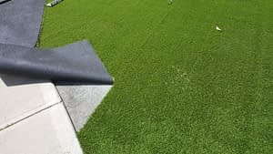 Laying The Artificial Grass